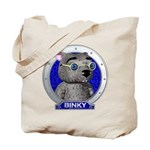 Binky's Blue Portrait Tote Bag