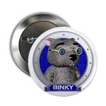 Binky's Blue Portrait Button
