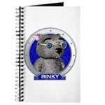 Binky's Blue Portrait Journal