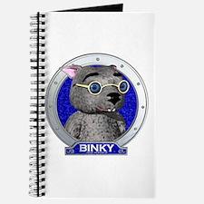 Binky's Blue Portrait Journal