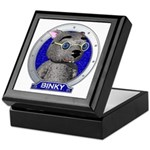 Binky's Blue Portrait Keepsake Box