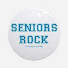 Seniors Rock Ornament (Round)