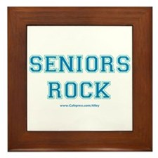 Seniors Rock Framed Tile