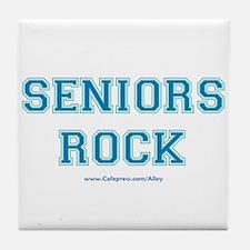 Seniors Rock Tile Coaster
