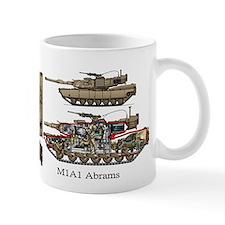M1a1 Abrams Bravo Company 4th Tank Battalion Mugs