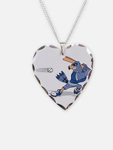 blue jay baseball Necklace