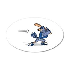 blue jay baseball Wall Decal