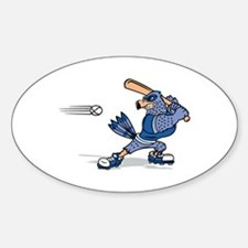 blue jay baseball Decal