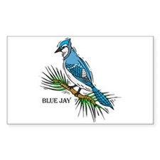 blue jay baseball Decal