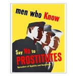 Say No to Prostitutes Small Poster