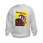 Say No to Prostitutes (Front) Kids Sweatshirt