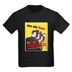 Say No to Prostitutes (Front) Kids Dark T-Shirt