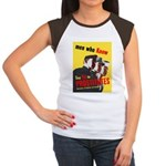 Say No to Prostitutes (Front) Women's Cap Sleeve T