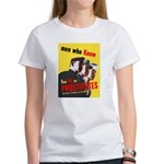 Say No to Prostitutes (Front) Women's T-Shirt