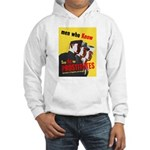 Say No to Prostitutes (Front) Hooded Sweatshirt