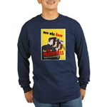 Say No to Prostitutes (Front) Long Sleeve Dark T-S