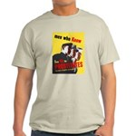Say No to Prostitutes (Front) Light T-Shirt