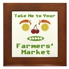 Take Me Framed Tile