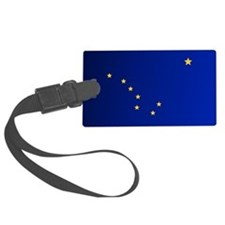 Alaska (Flag 15)b Luggage Tag