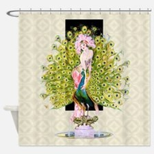Leyendecker Art Deco Rivals Shower Curtain