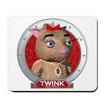 Twink's Red Portrait Mousepad