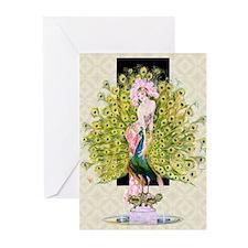 Leyendecker Art Deco Riv Greeting Cards (Pk of 10)