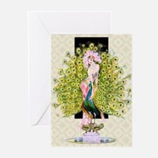 Leyendecker Art Deco Riv Greeting Cards (Pk of 20)