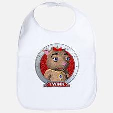 Twink's Red Portrait Bib