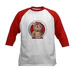 Twink's Red Portrait Kids Baseball Jersey