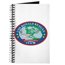 Uss Ronald Reagan Cvn-76 Logo Journal