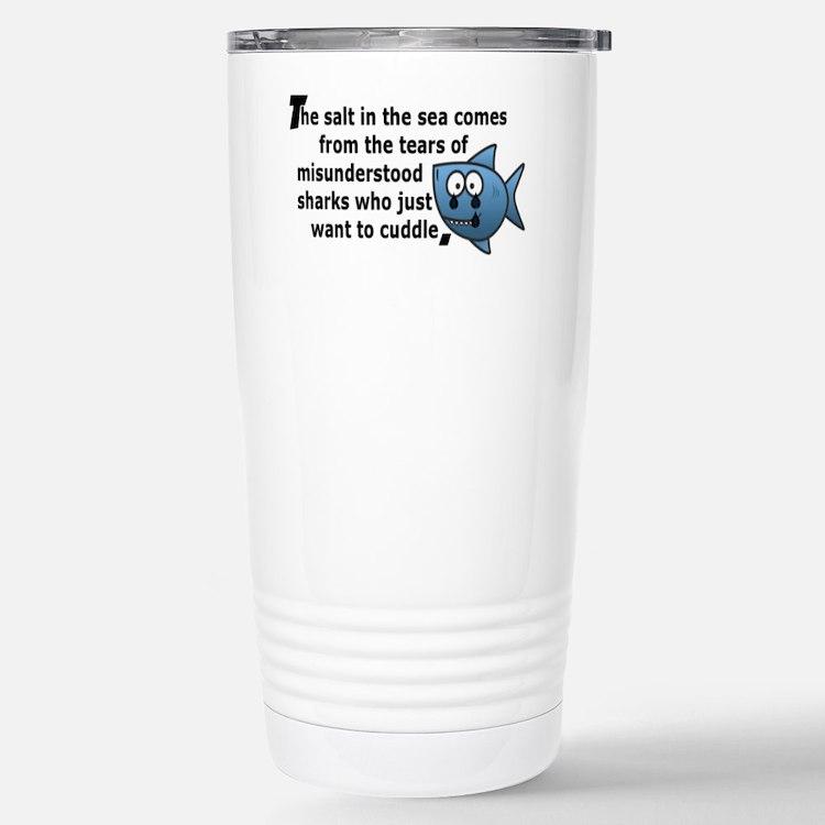 Cute Sharks Travel Mug