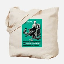 Stop Syphilis VD Tote Bag