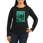 Stop Syphilis VD (Front) Women's Long Sleeve Dark