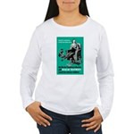 Stop Syphilis VD (Front) Women's Long Sleeve T-Shi