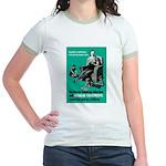 Stop Syphilis VD Jr. Ringer T-Shirt