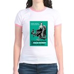 Stop Syphilis VD (Front) Jr. Ringer T-Shirt
