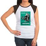 Stop Syphilis VD Women's Cap Sleeve T-Shirt