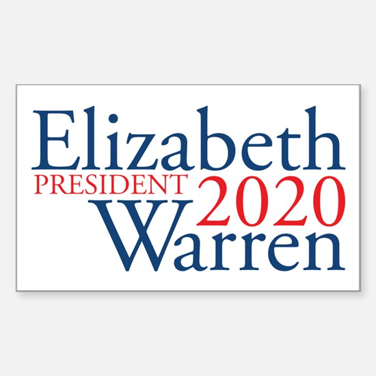 Elizabeth Warren 2020 Decal