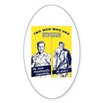 Stop Syphilis Venereal Disease Oval Sticker