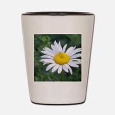 Spider on Daisy Shot Glass