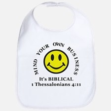 Mind Your Own Business, It's BIBLICAL 2 Bib