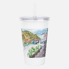 I Love St Barth Acrylic Double-wall Tumbler