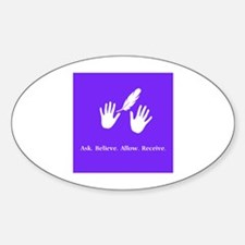 Ask Believe Allow Receive Gifts 2 Decal