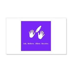 Ask Believe Allow Receive Gifts 2 Wall Decal