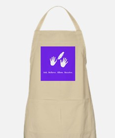 Ask Believe Allow Receive Gifts 2 Apron
