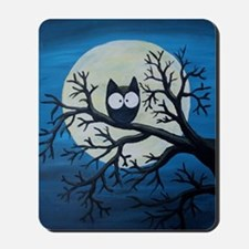 Night Owl Mousepad