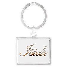 Gold Isiah Keychains