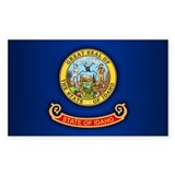 Idaho flag Single