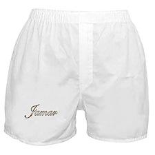 Gold Jamar Boxer Shorts