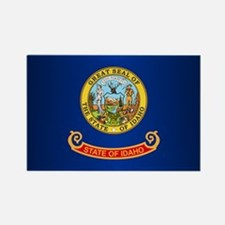 Idaho Flag Rectangle Magnet